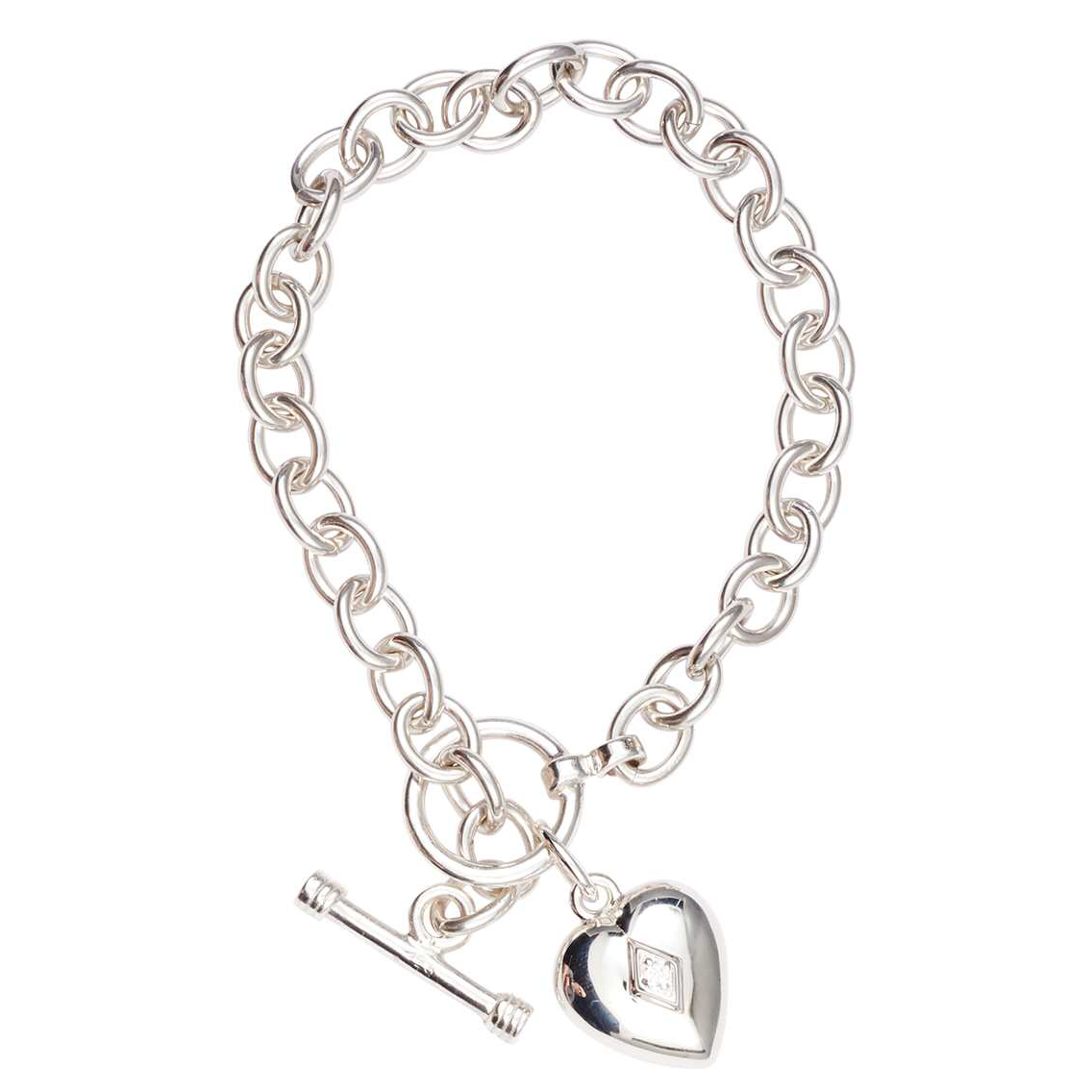 silver toggle line classic picture bracelet s p thin charm inspired gold dispatcher support of